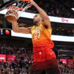 NBA – Les Français de la nuit : Rudy Gobert signe son 52ème double-double de la saison