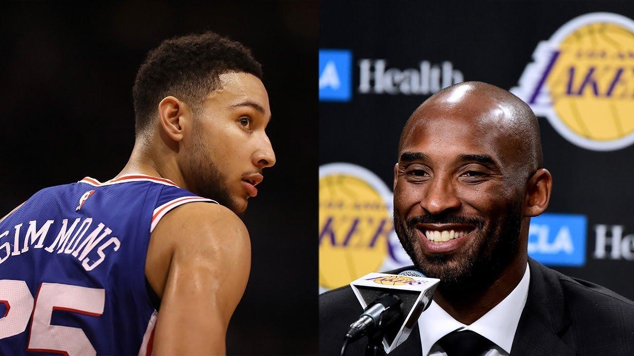 Ben Simmons et Kobe Bryant