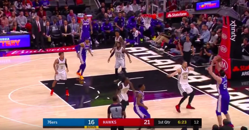 Boban Marjanovic premier 3-points carrière
