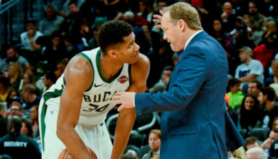 NBA – Giannis agacé par la tactique de son coach ?