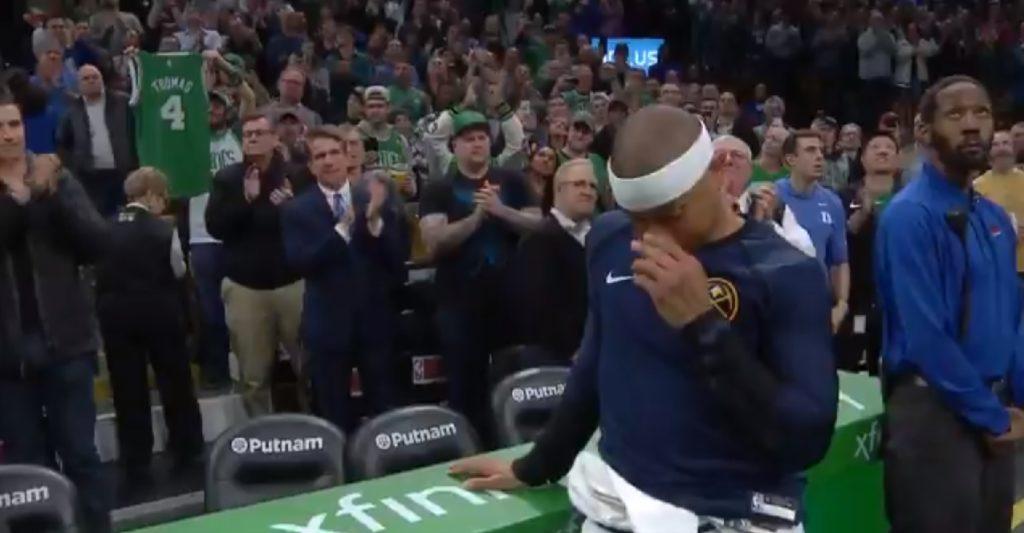 Isaiah Thomas au bord des larmes pour son retour à Boston