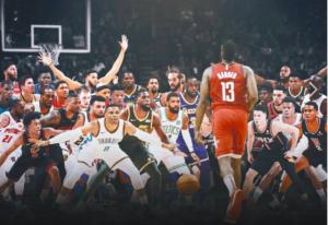 NBA – Le plus gros carton de James Harden contre chaque franchise (2018-2019)