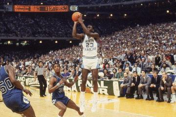 Michael Jordan crucifie Georgetown en finale du tournoi NCAA