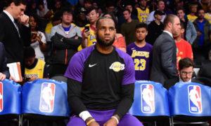 NBA – La terrible stat des Lakers quand LeBron est sur le banc