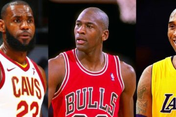 LeBron James, Kobe Bryant et Michael Jordan
