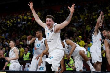 Luka Doncic sous le maillot du Real Madrid