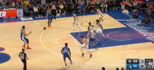 NBA – Le deuxième trois points en carrière de Boban Marjanovic !