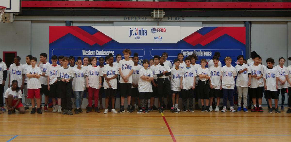 Pour la 2e NBA Jr. League à Paris, les collèges UNSS ont été tirés au sort pour représenter une équipe NBA chacun. RDV le 12 juin à Pierre de Coubertin.
