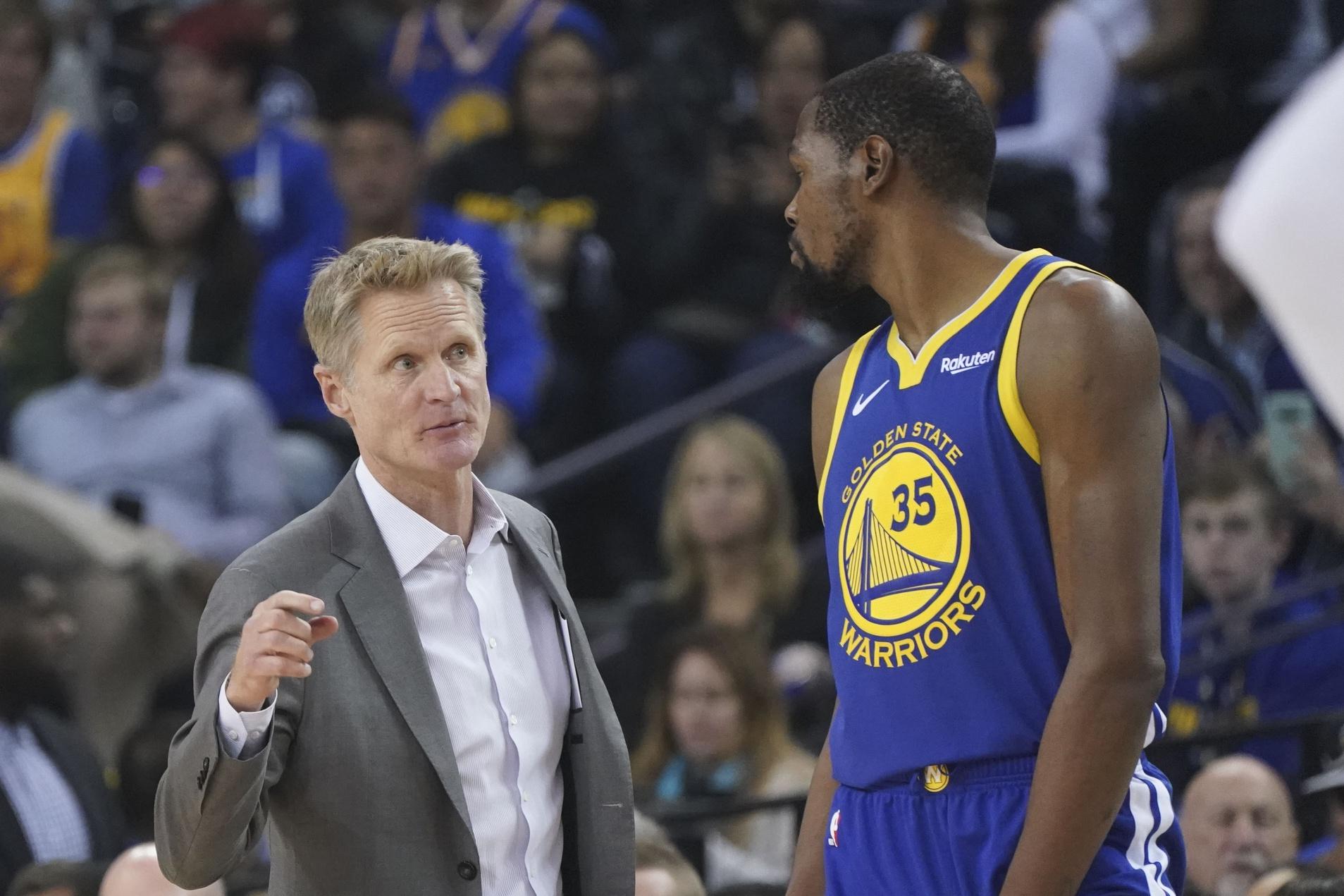 Kevin Durant n'est pas d'accord avec les conclusions de son coach après la défaite contre Boston