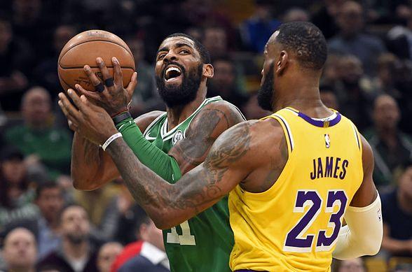 Kyrie Irving et Lebron James pourraient se réunir chez les Lakers