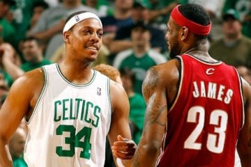 Paul Pierce s'auto-proclame plus grand rival de LeBron James
