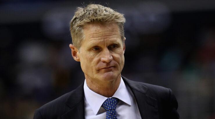 Steve Kerr était mécontent de l'attitude de son équipe dans la défaite face aux Celtics