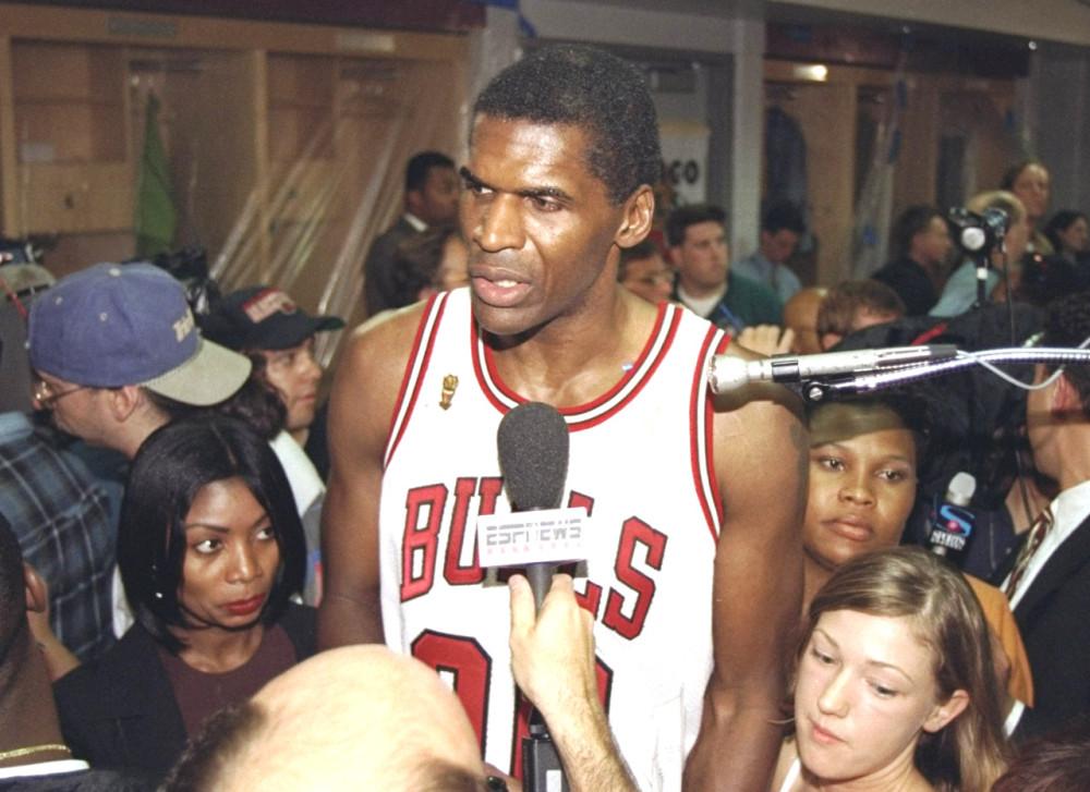 Robert Parish sous le maillot des Bulls