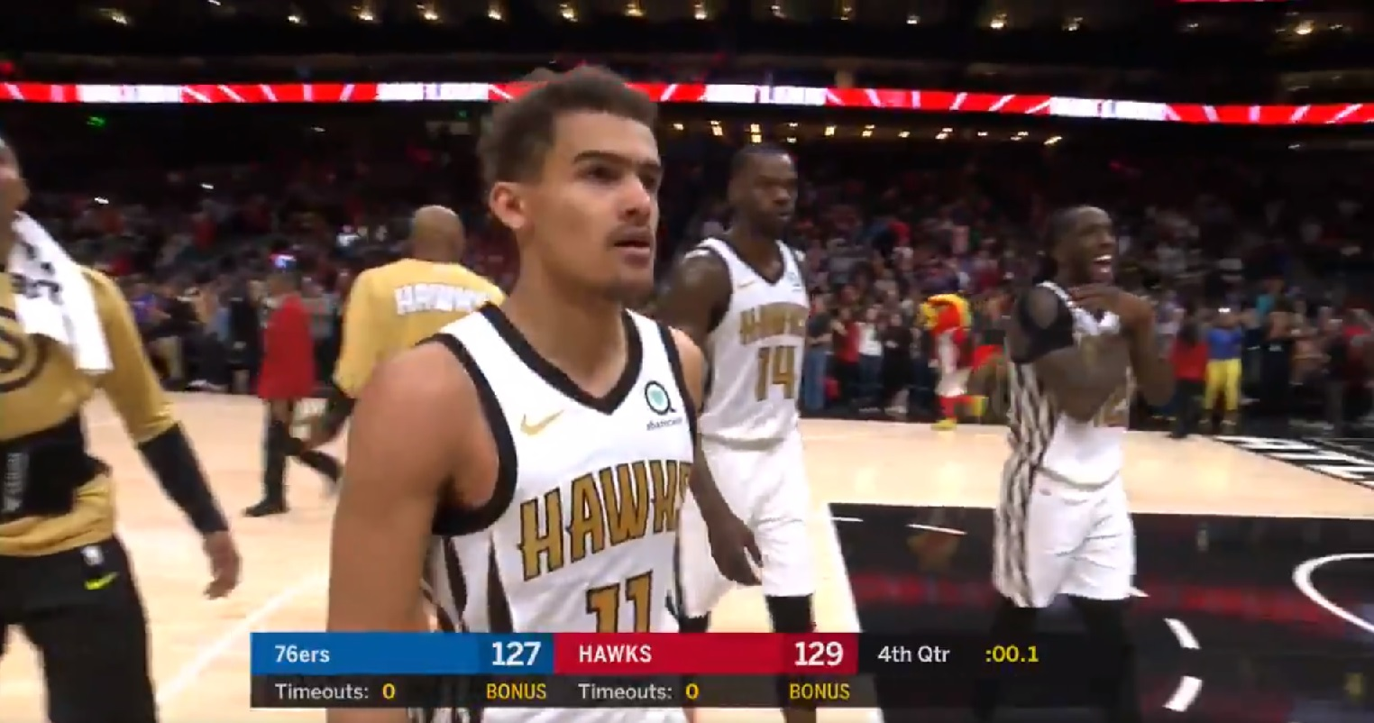 Trae Young marque le game-winner contre Philadelphie