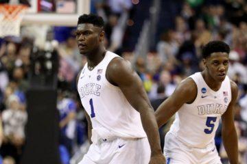 Zion Williamson et R.J. Barrett sous le maillot de Duke