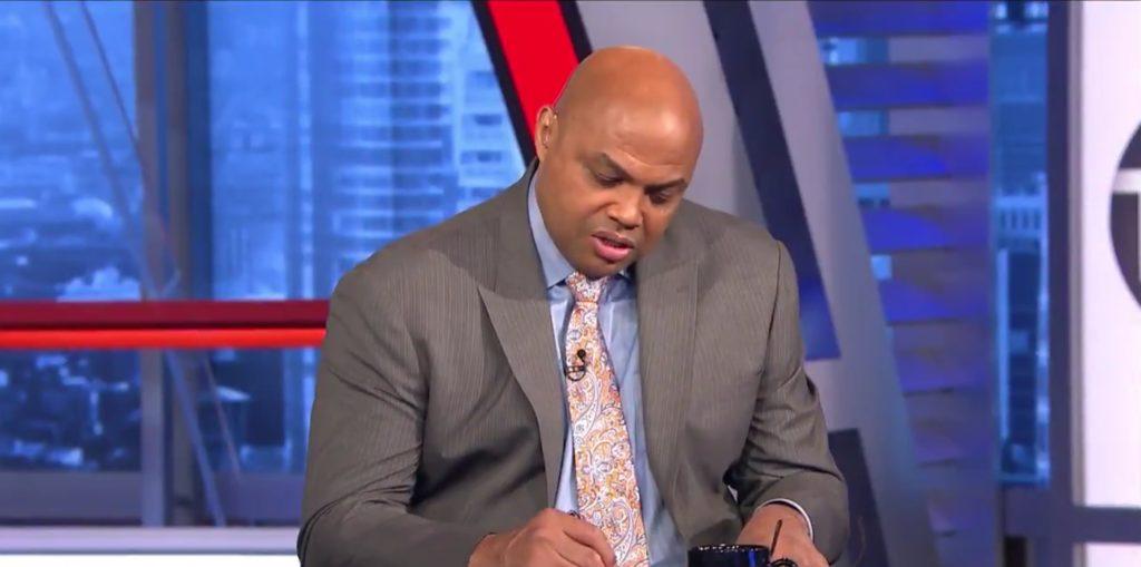 Charles Barkley a donné sa liste des 5 meilleurs joueurs de la ligue sur le plateau de TNT