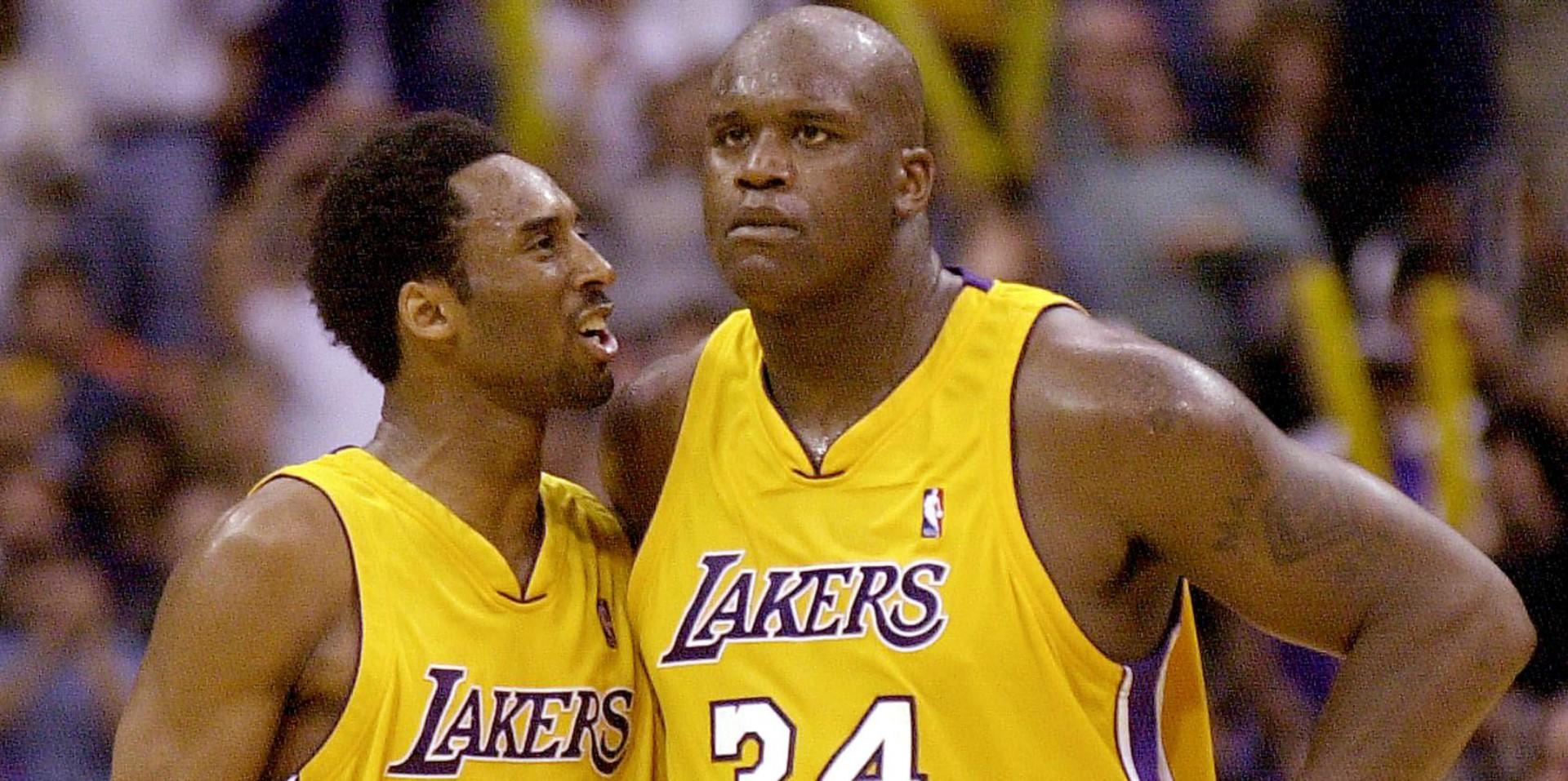 Kobe Bryant Shaquille O'Neal