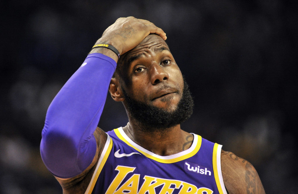 LeBron James Audiences Baisse Playoffs NBA