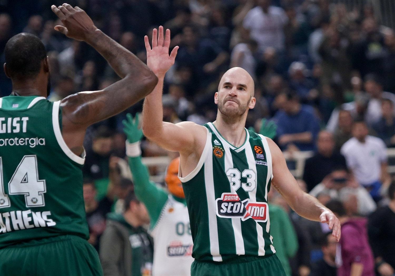 Triple-double pour Nick Calathes face à Podgorica