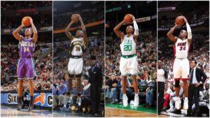 NBA – Les 10 plus gros tirs en carrière de Ray Allen