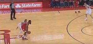 NBA – La défense étrange de Ricky Rubio sur James Harden