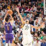 NBA – Les Français de la nuit : Rudy Gobert s'éclate chez les Suns, Elie Okobo lui répond