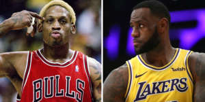 NBA – Dennis Rodman ose une grosse décla sur Pippen et LeBron