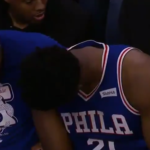 NBA – Quand Amir Johnson regarde son portable avec Embiid pendant le Game 1