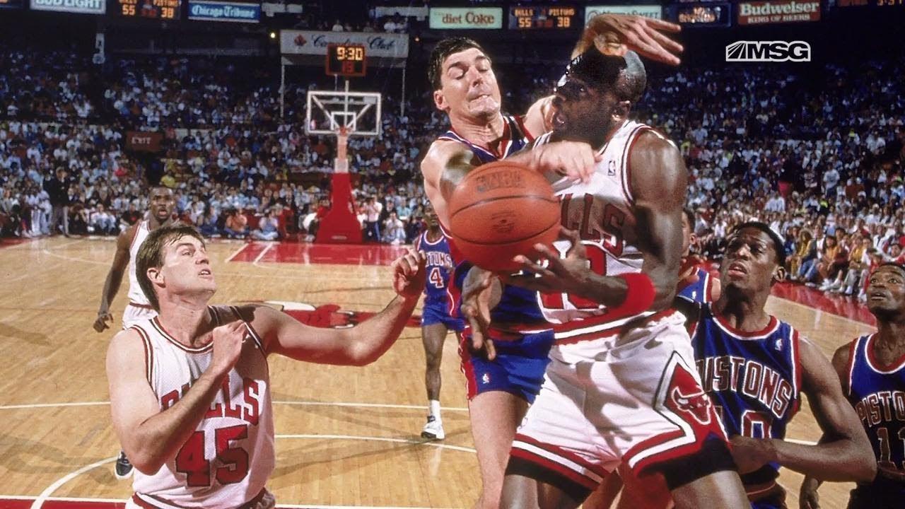 Bill Laimbeer et Michael Jordan ne sont pas les meilleurs amis du monde