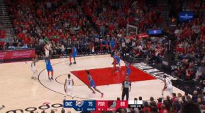 NBA Playoffs – Top 5 : Damian Lillard fait danser Raymond Felton