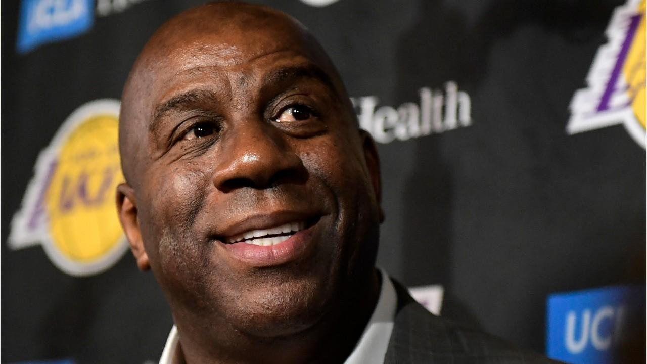 Magic Johnson lâche un tweet étrange