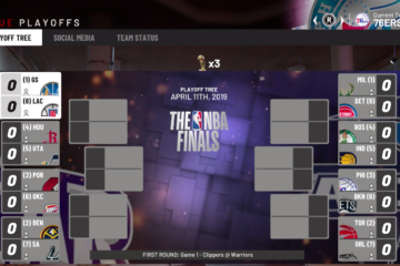 NBA playoffs 2019 simulation