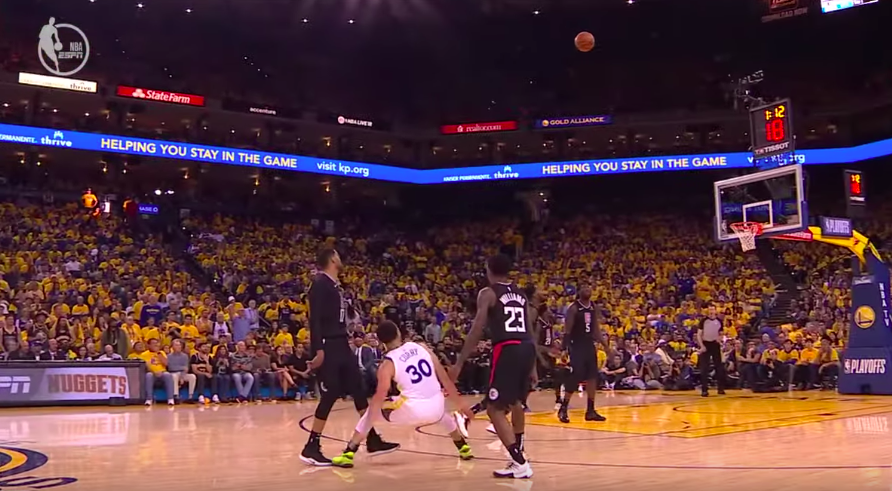Stephen Curry record trois points playoffs