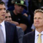 NBA – Steve Kerr pense que les Lakers ont fait une erreur avec Luke Walton