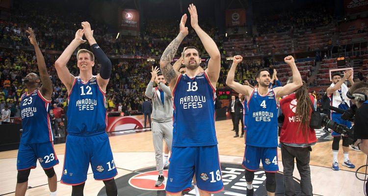 L'Anadolu Efes Istanbul est en finale