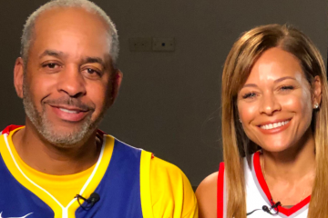 Dell Curry Sonya Curry Golden State Warriors Portland Trail Blazers