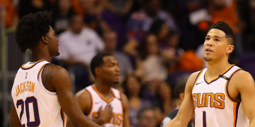 Josh Jackson TJ Warren Devin Booker Phoenix Suns