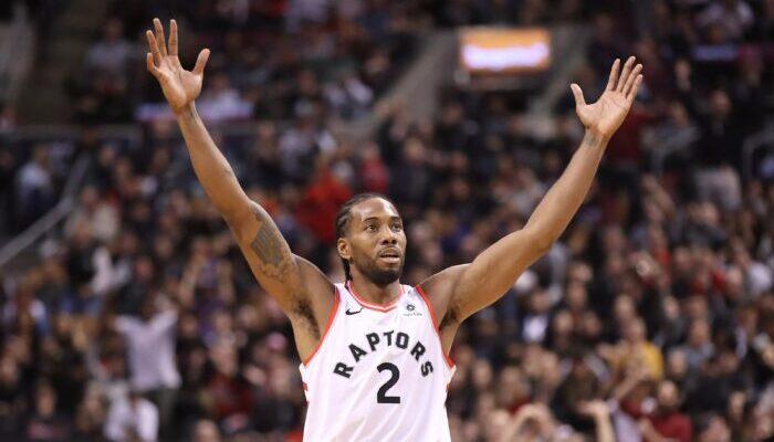 Kawhi est devenu cette nuit le 3ème meilleur marqueur de l'histoire des Raptors en playoffs