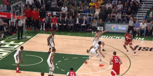 NBA – Top 5 : Kawhi décoche le 3 sur Brook Lopez !