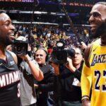NBA – La belle surprise de LeBron pour l'anniversaire de Dwyane Wade