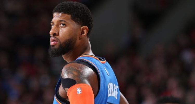 Paul George OKC Oklahoma City Thunder