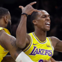 Rajon Rondo Los Angeles Lakers LeBron James