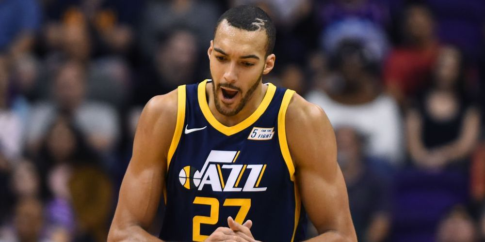 Rudy Gobert Utah Jazz