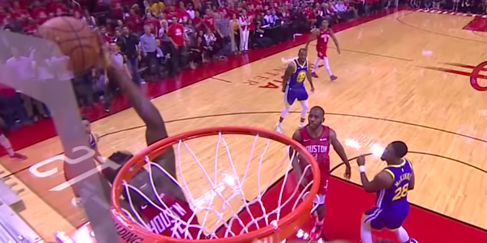 Top 5 Clint Capela Dunk Chris Paul Houston Rockets