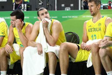 L'équipe australienne de basket