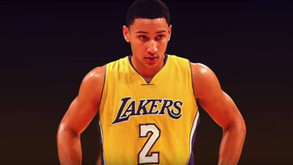 Ben Simmons montage Lakers