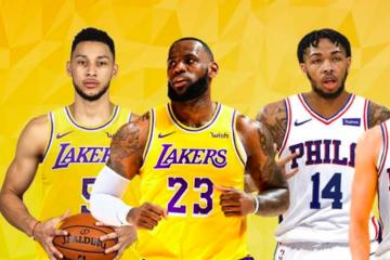 Ben Simmons transfert Lakers
