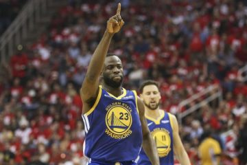 Draymond Green sous le maillot des Warriors