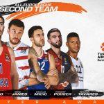 Euroleague – Trophée : Nando De Colo et Vincent Poirier dans le deuxième cinq de l'année !