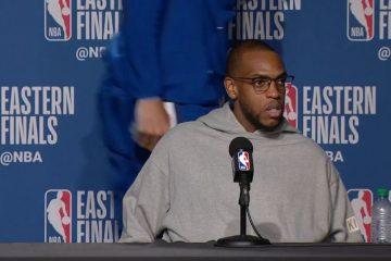 Giannis quitte la conférence de presse, Middleton surpris